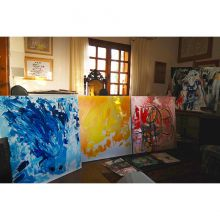 In Michel Montecrossa's Studio