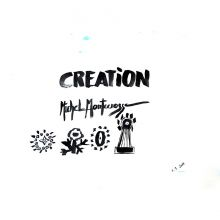 Logo For The Creation Art Exhibition