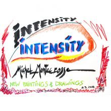 Logo For The Intensity Art Exhibition