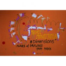 Box-Set, '8 Dimensions' Series Of Drawings From Paris, Cover Painting #1