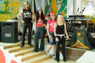Michel Montecrossa and his band The Chosen Few