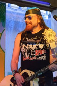 Michel Montecrossa at the Spirit of Woodstock Festival in Mirapuri