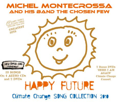 Happy Future' CD-Box with 4 Audio CDs and 2 DVDs and Song