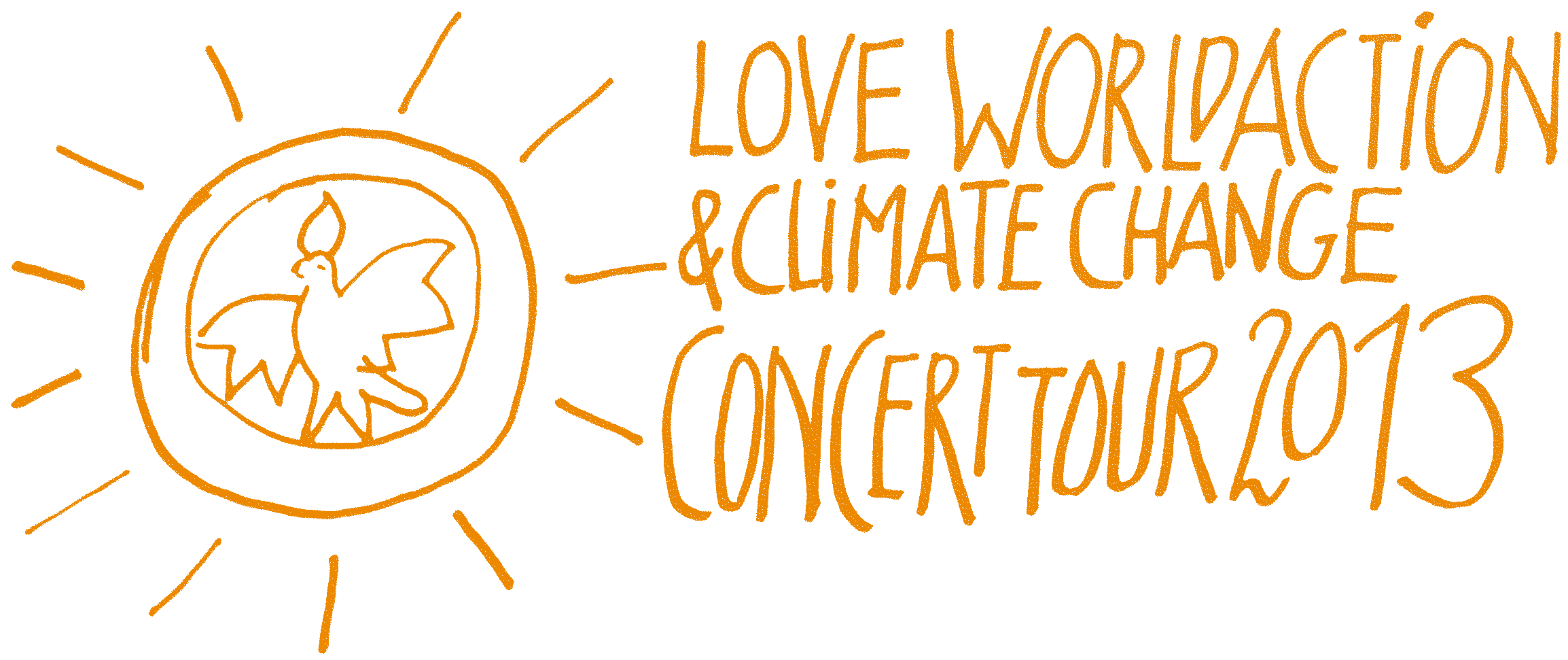 Love World Action & Climate Change Concert Tour 2013