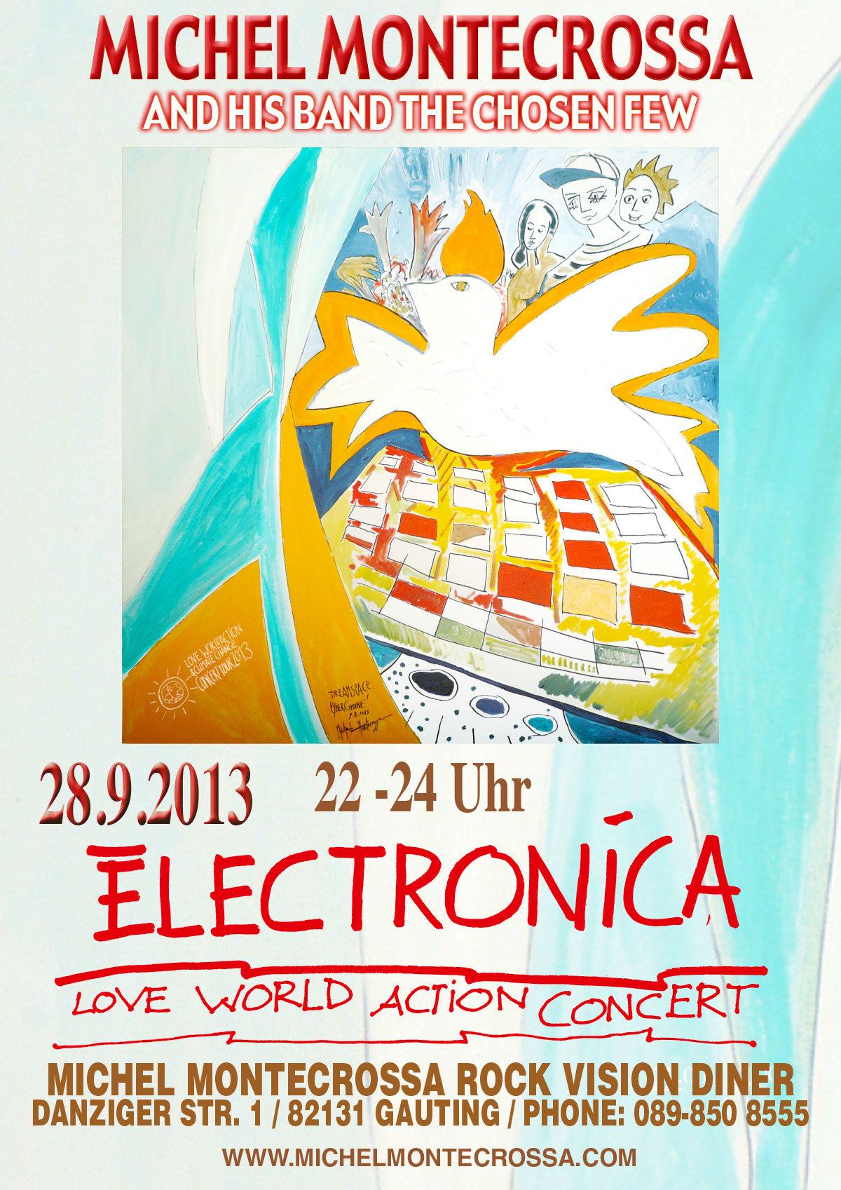 Electronica Love World Action Concert