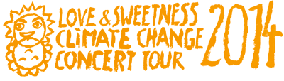 Love & Sweetness Climate Change Concert Tour 2014