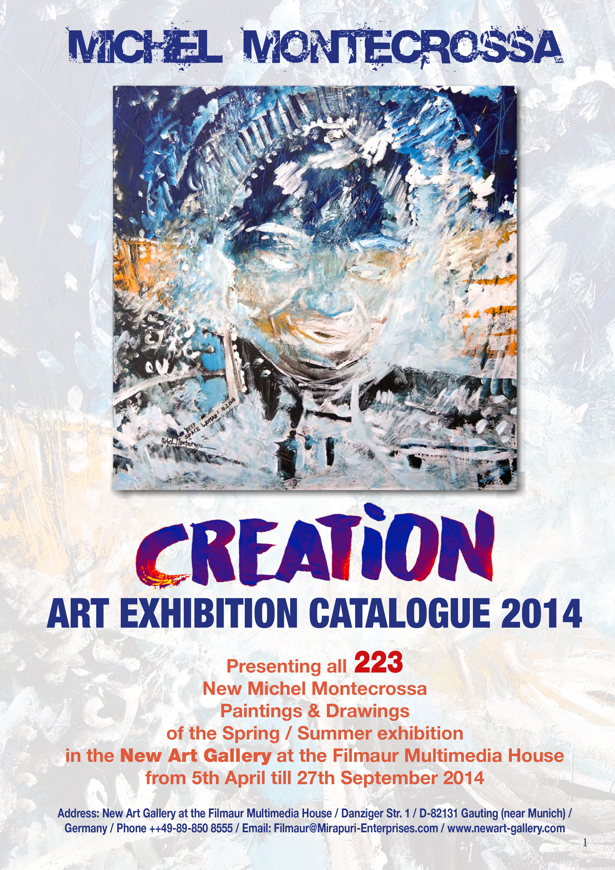 Creation Art Exhibition Catalogue 2014