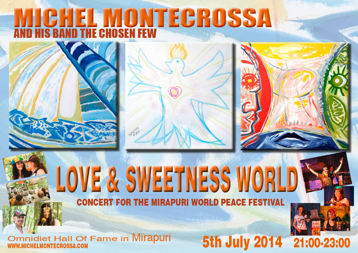 Love & Sweetness World Mirapuri World Peace Festival Concert