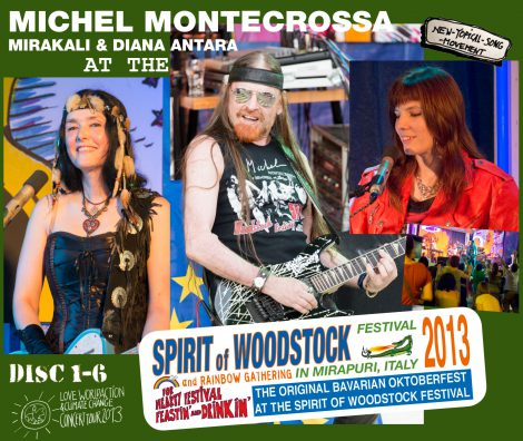 Spirit of Woodstock Festival 2013 in Mirapuri, Italy - Box-Set 1