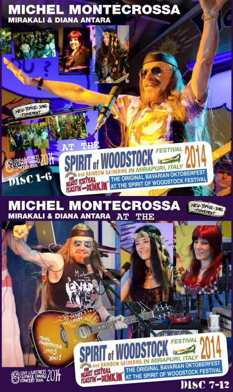 Spirit of Woodstock Festival 2014 in Mirapuri, Italy - CD Set