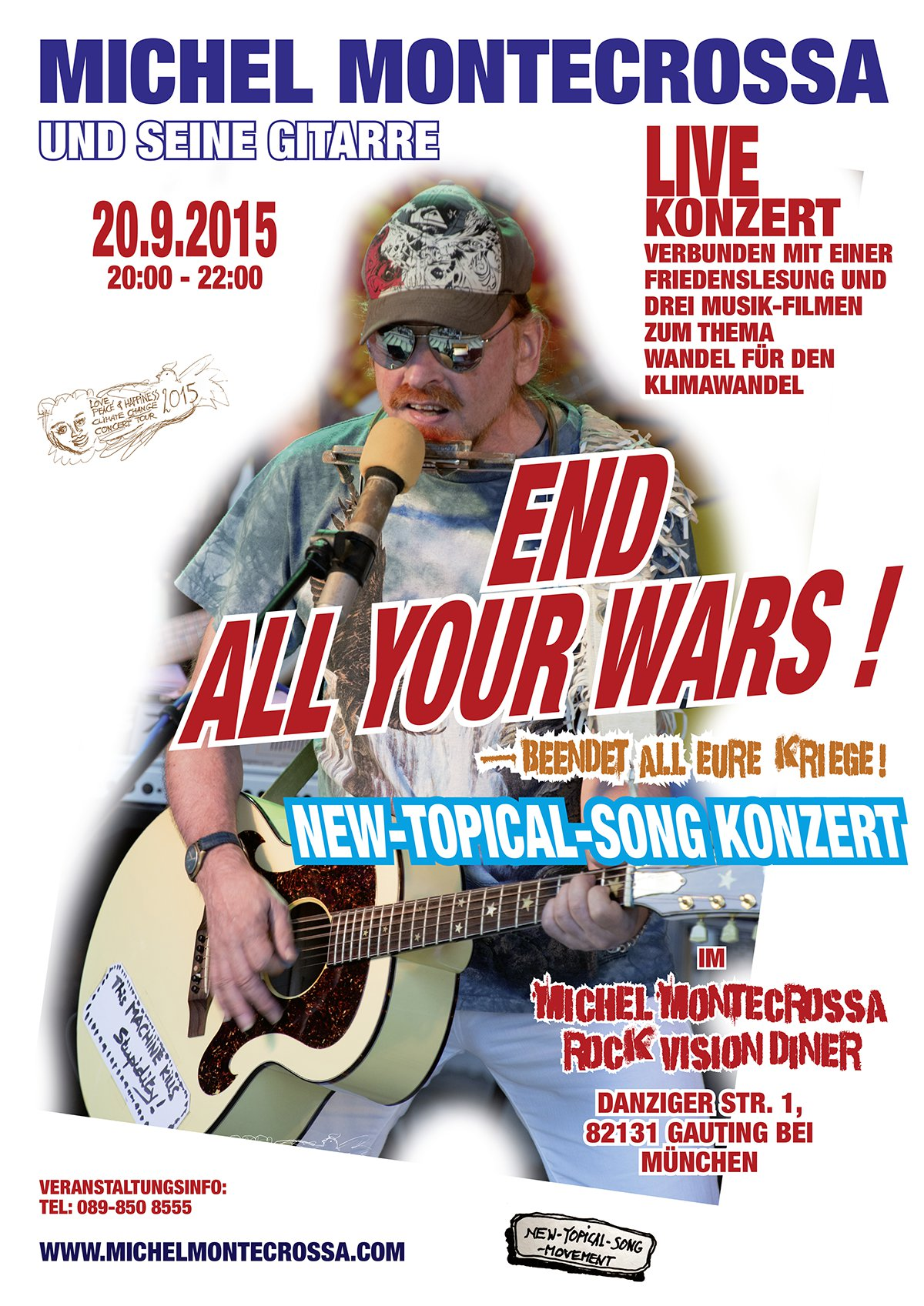 End All Your Wars - Beendet all eure Kriege Konzert