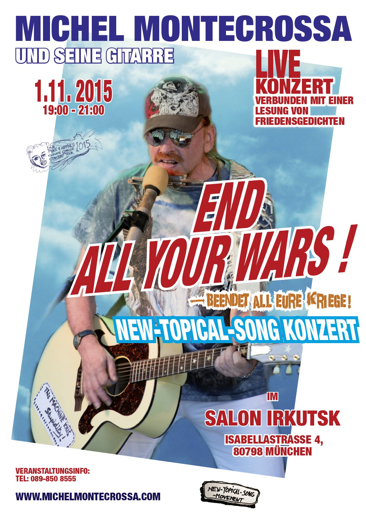 End All Your Wars - Beendet All Eure Kriege im Salon Irkutsk