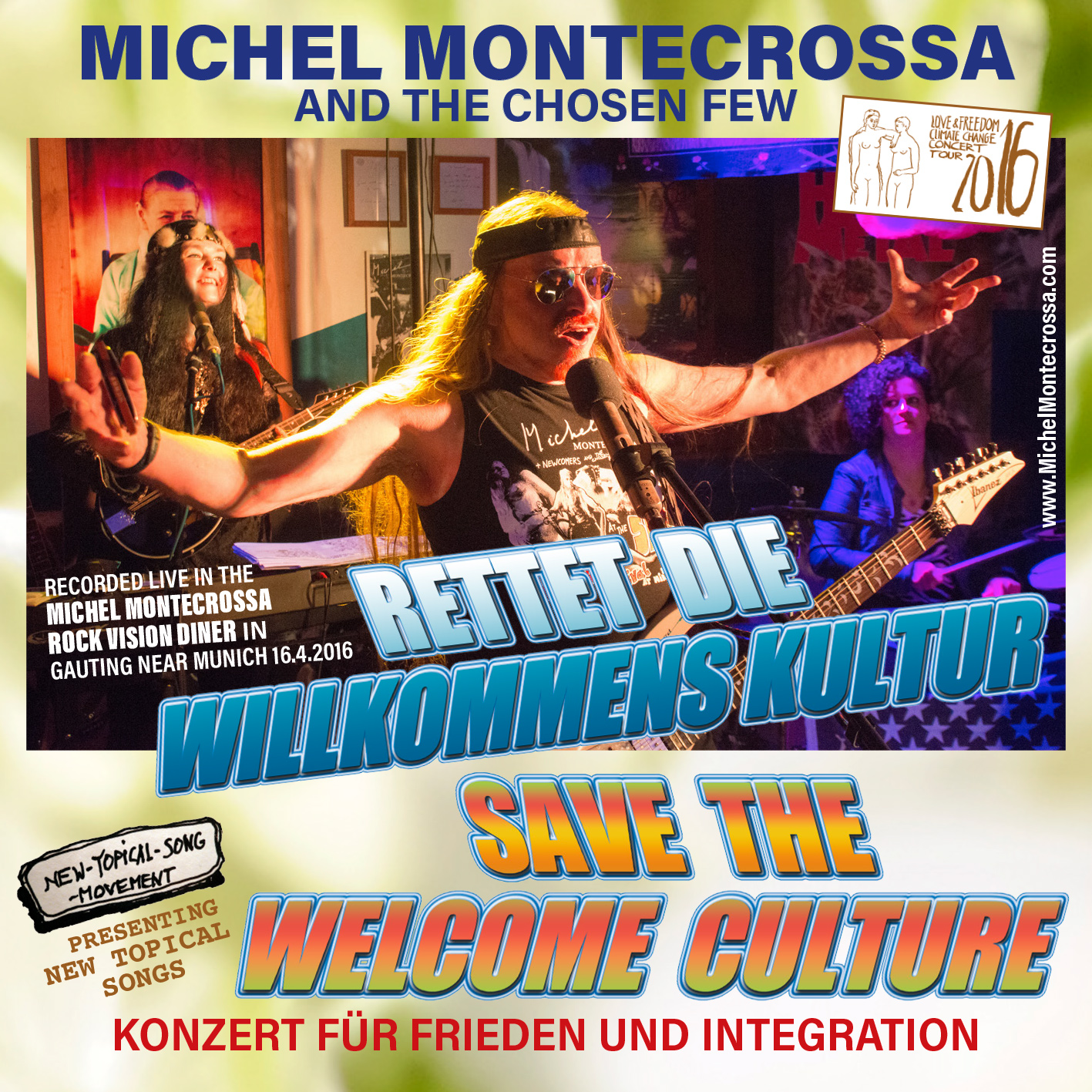 Rettet die Willkommens Kultur – Save The Welcome Culture Concert