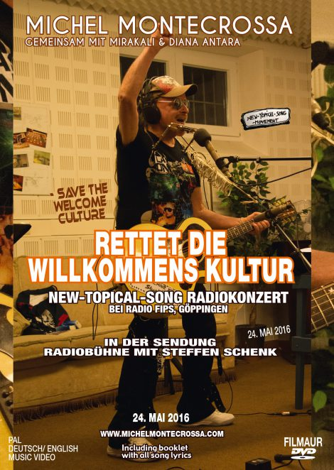 Rettet die Willkommens Kultur - Save The Welcome Culture Radiokonzert bei Radio Fips Movie