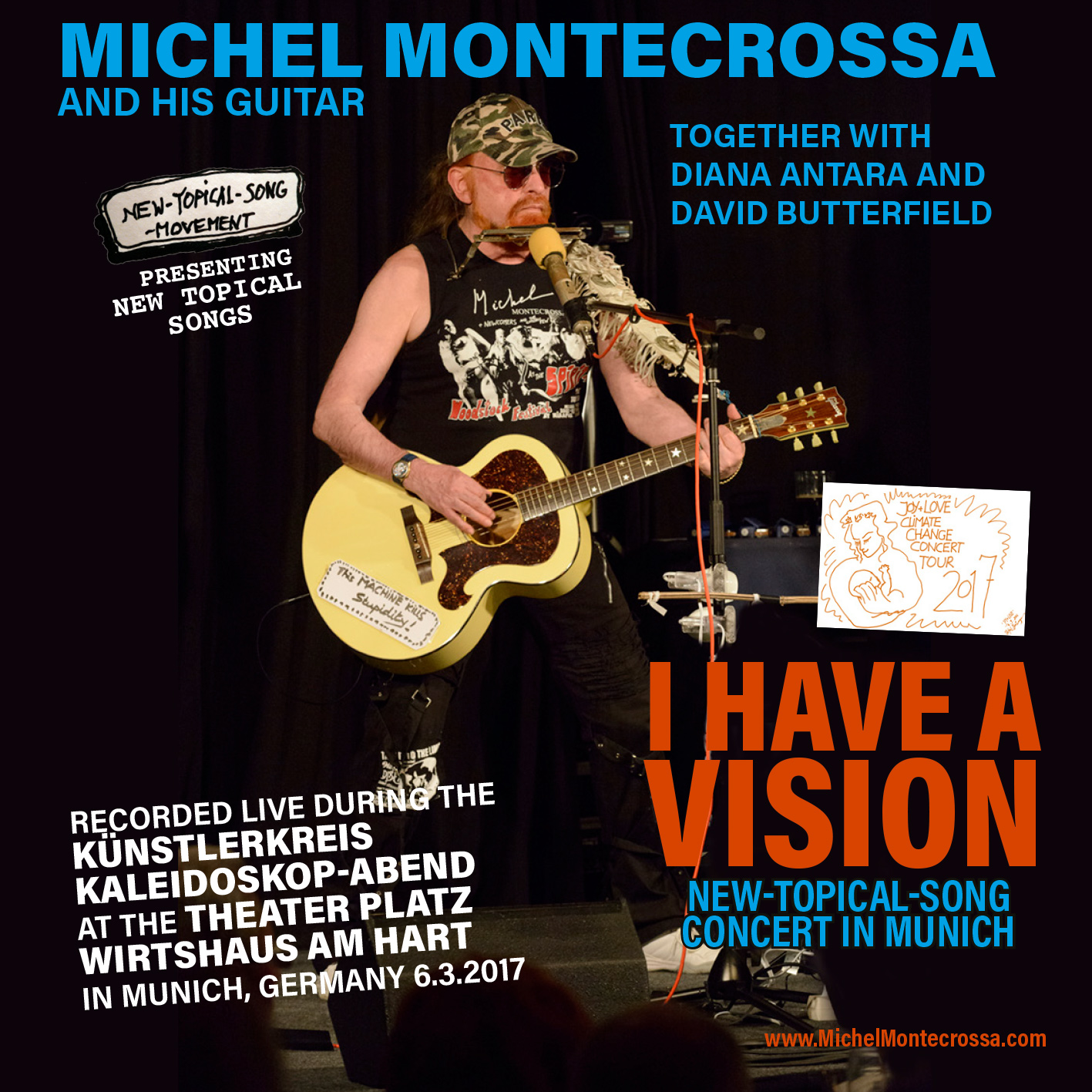 I Have A Vision New-Topical-Song Concert in Munich