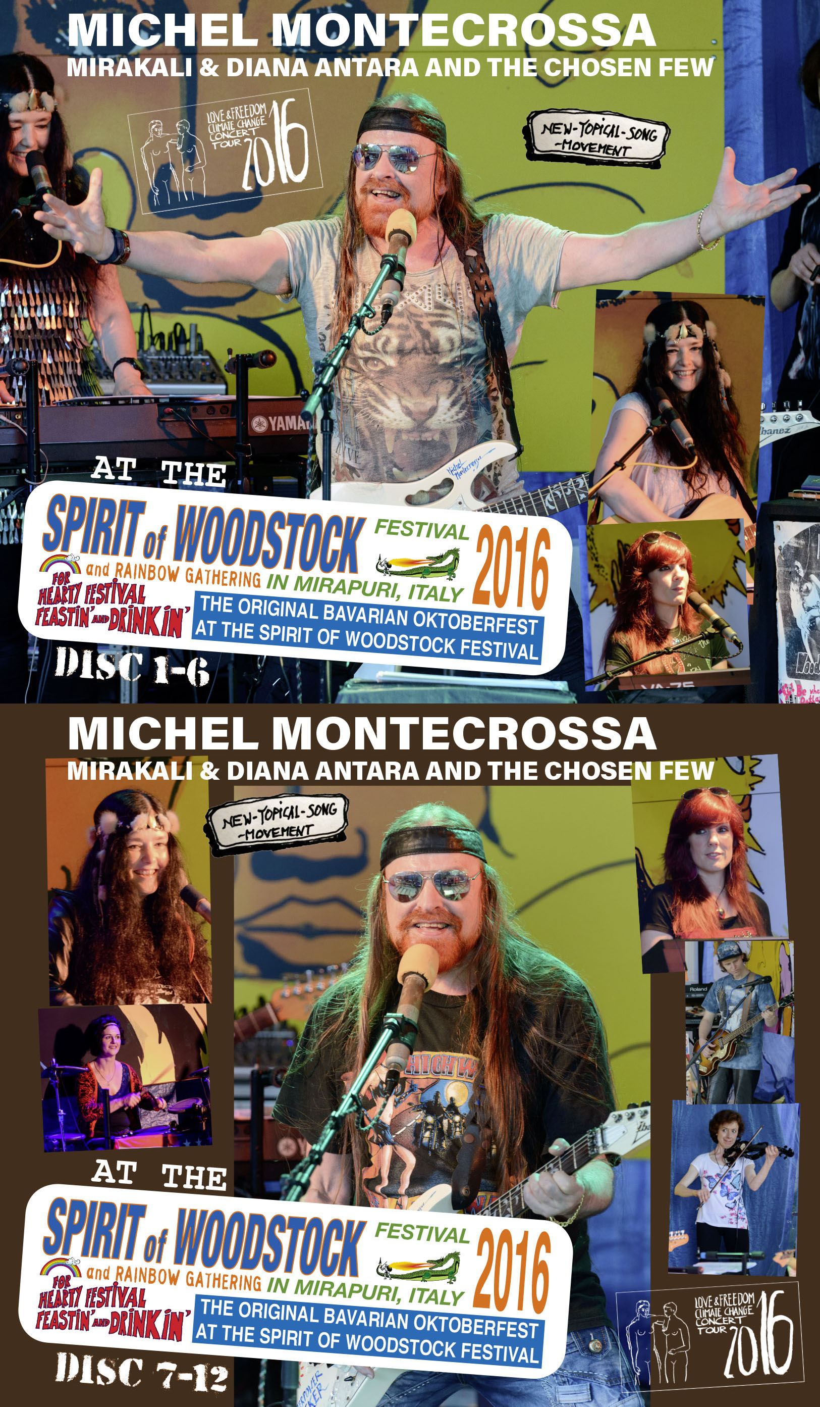 Spirit of Woodstock Festival 2016 in Mirapuri, Italy