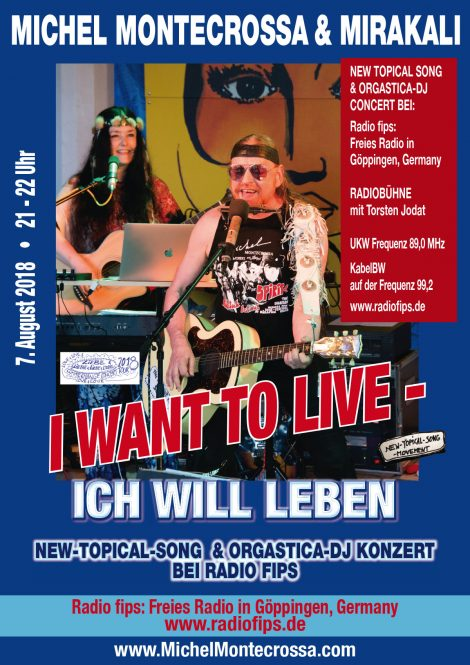 I Want To Live - Ich Will Leben Radio Concert
