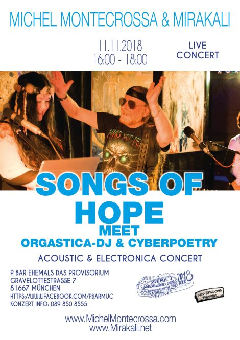 Songs of Hope meet Orgastica-DJ