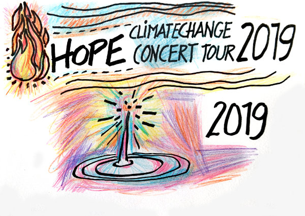 Love & Hope Climate Change Concert Tour 2019