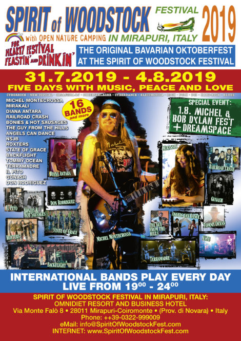 Spirit Of Woodstock Festival 2019 in Mirapuri, Italy